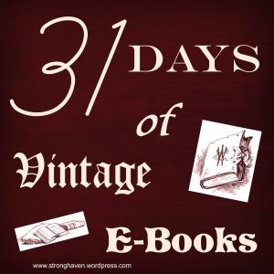 Vintage e-books